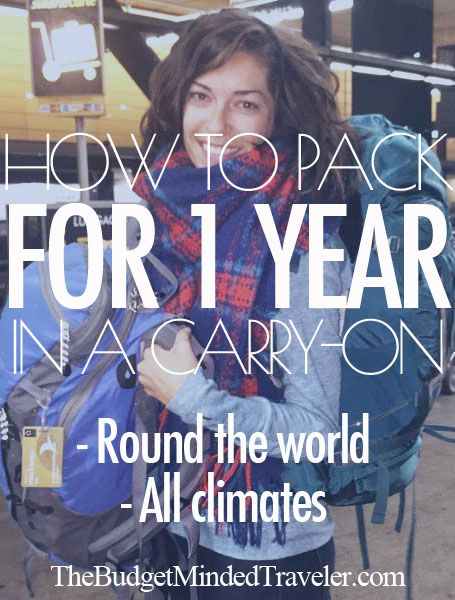 Ultimate #Travel #Packing List: How to Pack for a Year in a Carry On, complete with results after two months of being on the road. THIS IS AMAZING