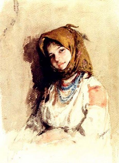 Nicolae Grigorescu - paintings #art #painting #romania #grigorescu