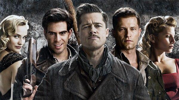 Brad Pitt in Inglorious Bastards Wallpaper