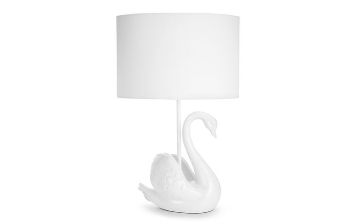 Swan Complete Lamp at Laura Ashley