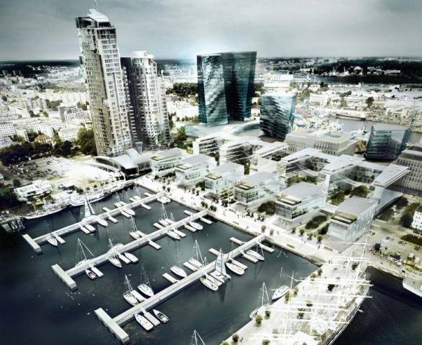 gdynia centrum plany - Gdynia City Centre.