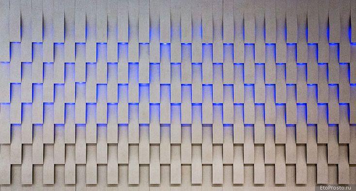 3D плитка - последние тенденции в дизайне. Новинки объемной плитки. Часть 2