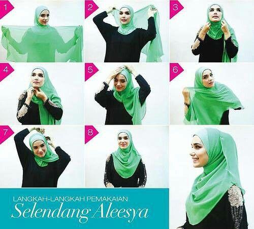 Wardina Safiyyah buat tutorial pakai shawl
