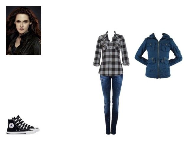 BELLA by mayleneholm on Polyvore featuring BB Dakota, Dsquared2 and Converse