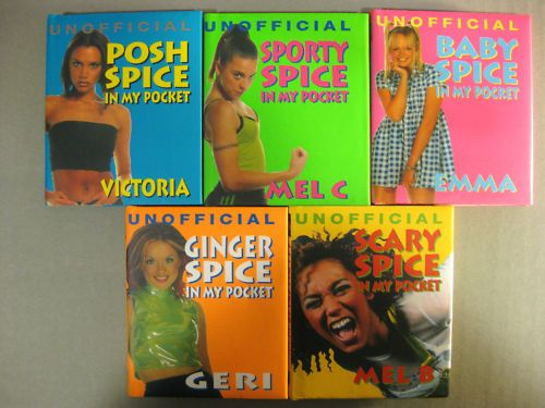 Really small books   27 Pieces Of Spice Girls Merch You Wish You Still Had.......I had all of these wow!!