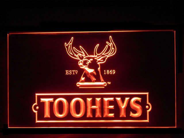 Tooheys New Logo Pub Store Light Sign