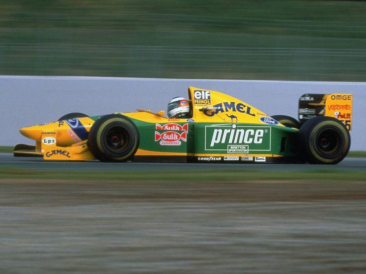 Michael Schumacher (Camel Benetton Ford), Benetton B193B - Ford HBA8 3.5 V8, 1993