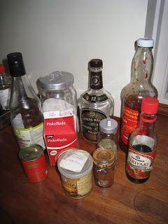 Marias Madside: whiskysauce