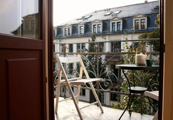 IKEA on the balcony of Dresden hospitable photo
