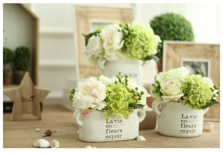 Awesome Artificial Flowers In Vase For Sale Online