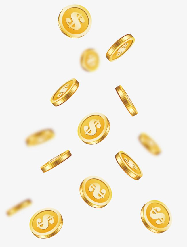 Cartoon Vector Png Flutuando Gold Coins Coins Mermaid Wallpaper Backgrounds