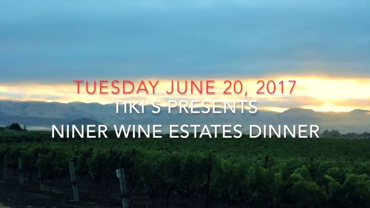 🍷 Tiki's Grill & Bar presents Niner Wine Estates Winemaker's Dinner Join us for a great night! Click here for tickets ---> https://www.eventbrite.com/e/tikis-grill-bar-presents-niner-wine-estates-winemakers-dinner-tickets-34411923991?aff=efbeventtix