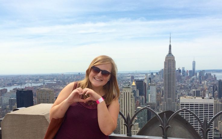 Top of the Rockeffeler center