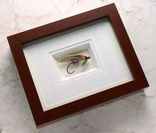Framed Classic Atlantic Salmon Fly - The Napoleon
