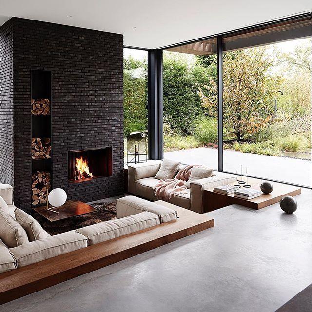 20 Cool 60's & 70's Sunken Living Room Remodel, Design & Ideas