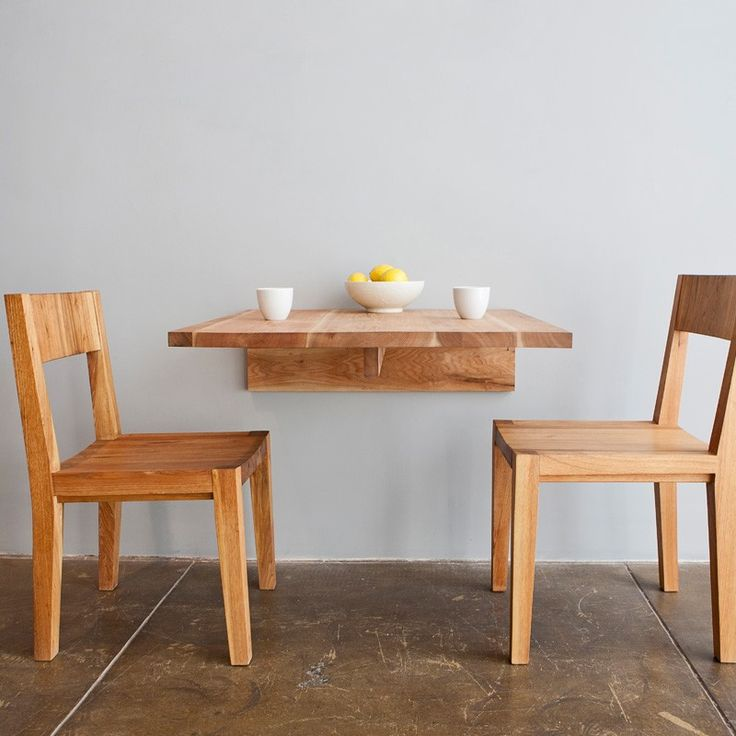 wall mount dining table
