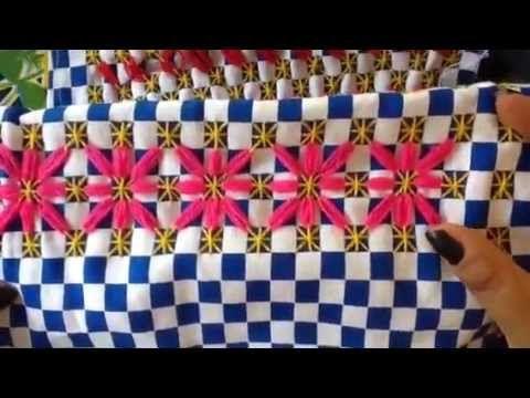 - 7 bordado español con cony - YouTube