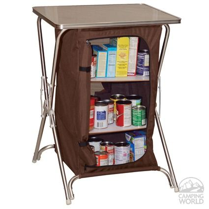 Folding Camp Pantry - Intersource Enterprises D09-1120 - Folding Tables - Camping World