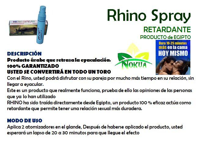 rhino spray