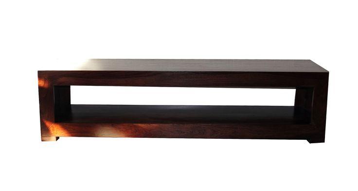 komoda rtv, siedzisko lite drewno