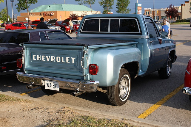 Chevy Stepside - reminds me of my daddy.  it's more sentimental then my dreamy, but i will definitely have one of my own!