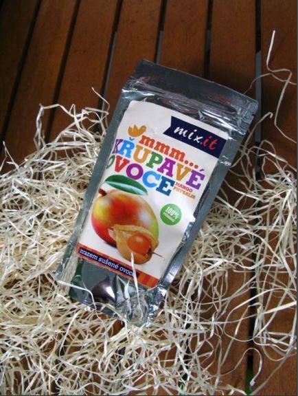 nový exotický mix mrazem sušeného ovoce od Mixit
