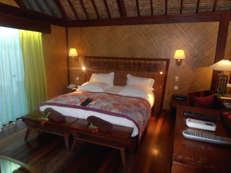 Captivating Garden Bungalow King Size Bed At Sofitel Bora Bora Private Island Resort.  Unique Honeymoon And Vacation Getaway Exotic Location. Design Ideas