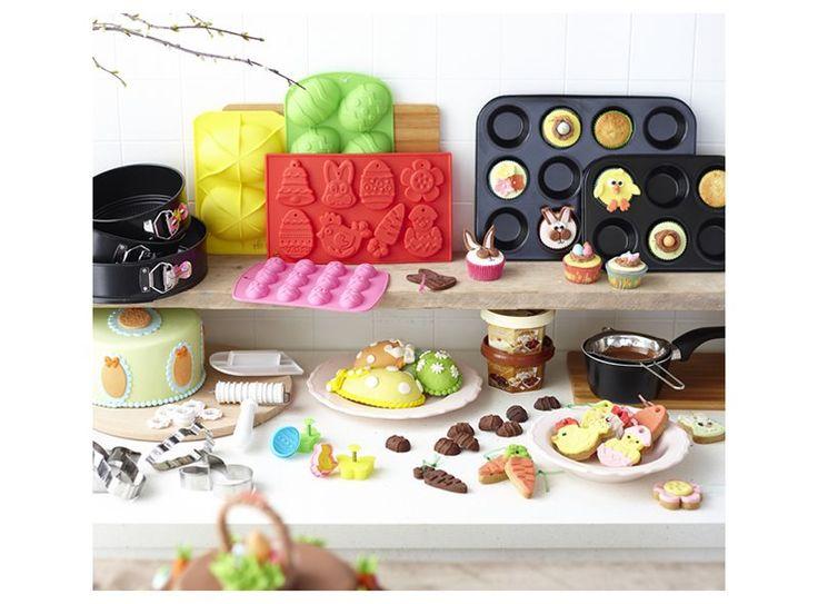 Wat bak jij met Pasen? Paascupcakes, of maak je toch liever paaseieren of paasbonbons? Bij Xenos vind je volop bakvormen en decoratie om jouw ultieme paasbaksel te creëren!