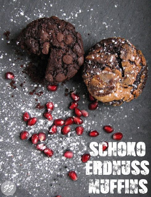 Dieses Rezept für Schokoladen-Erdnussbutter-Muffins backen wir zu jeder Party, denn wer liebt nicht Schokoladen & Erdnussbutter #vegan #chocolate #dairyfree