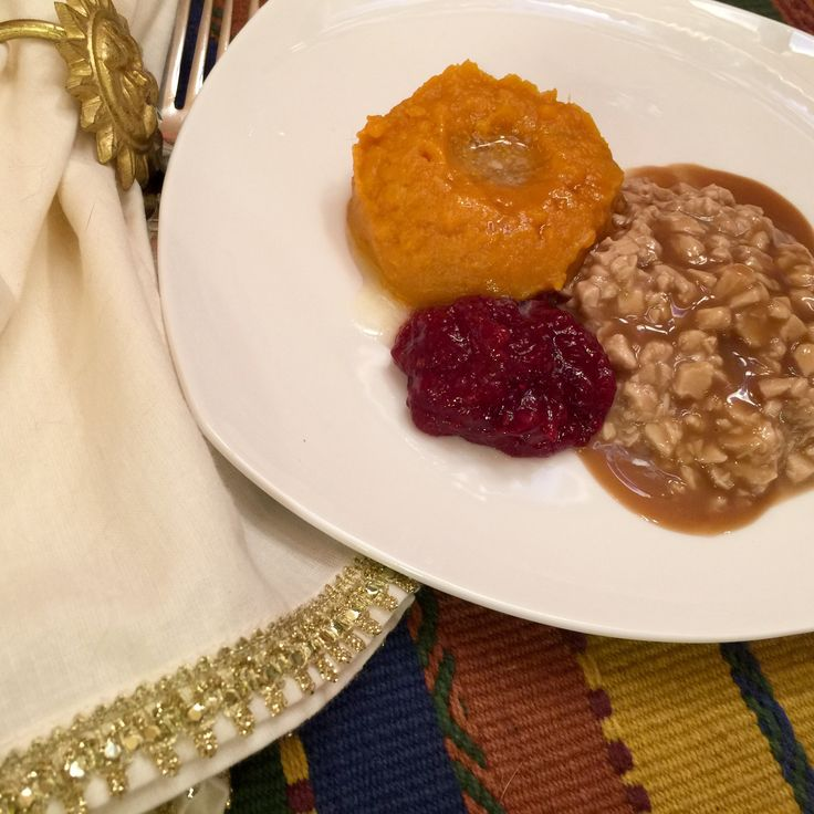 Main Course Soft Food Bariatric Holiday meal