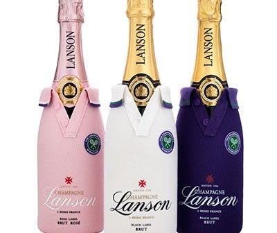 Champagne Lanson ready for Wimbledon