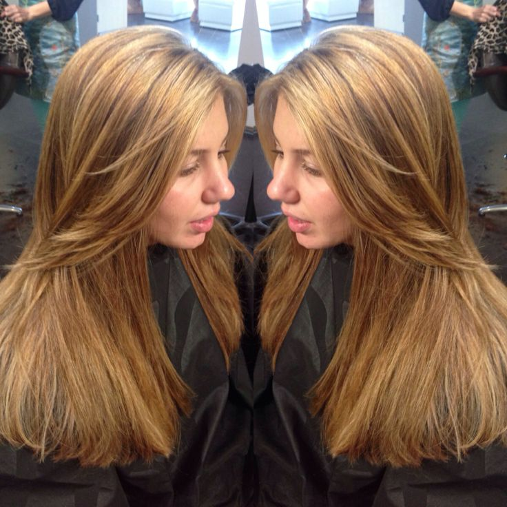 From Dark Copper Brown To Light Brown With Caramel And