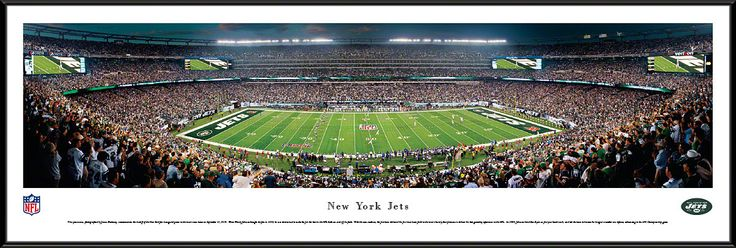 New York Jets Panoramic - New Meadowlands Stadium Picture - 50 Yard