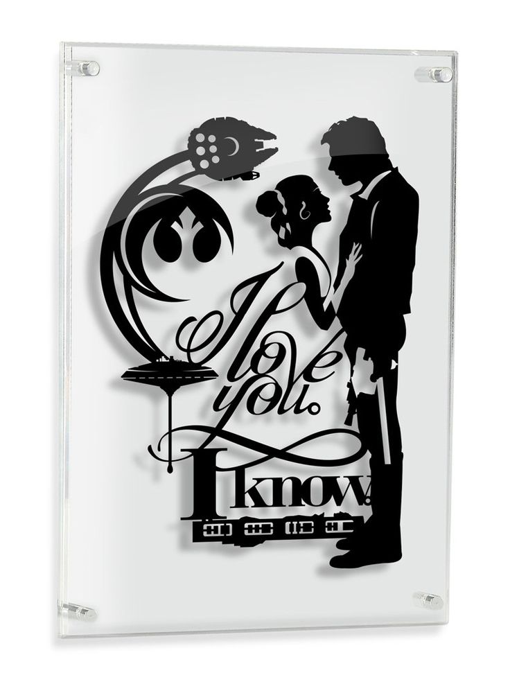 I Love You I Know - Han Solo and Princess Leia Star Wars paper craft // silhouette handcut paper craft unique wall art love quote artwork by willpigg on Etsy https://www.etsy.com/listing/228267706/i-love-you-i-know-han-solo-and-princess