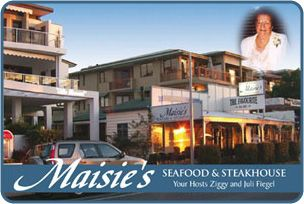 Maisie's seafood and steakhouse restaurant in Noosavilleon the river.  The best lobser mornay yet. Highly recommended