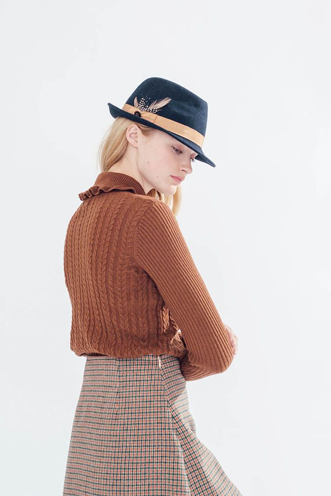Highland Jumper (Caramel) - Miss Patina - Vintage Inspired Fashion