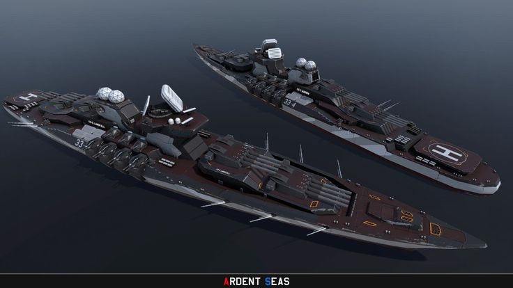 The embodiment of Coalition Naval Doctrine: Heavy armor, bristling with guns, maneuverability of a small mountain. Capable of unleashing unparalleled destruction on anything brave or suicidal enoug...