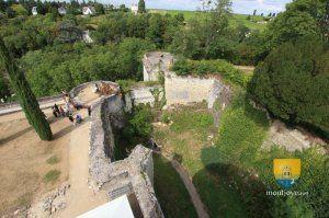 Château de Chinon - Jeanne d'Arc - montjoye.net châteaux et patrimoine