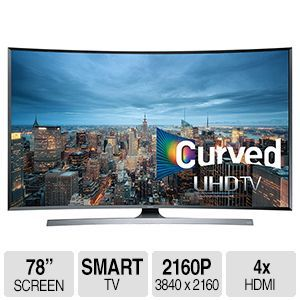 Shop Samsung 4K UHD Curved Smart TV (Instant Savings)