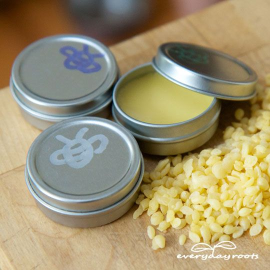 How to Make Healing Homemade Lip Balm - I would add some drops of Thieves oil as well to add an antibacterial component.
