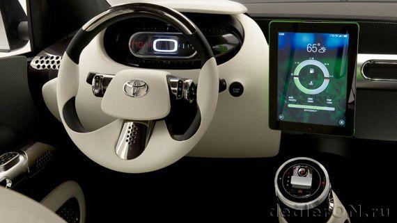 Интерьер городского фургона Toyota Urban Utility / Тойота Урбан Утилити – сделай сам