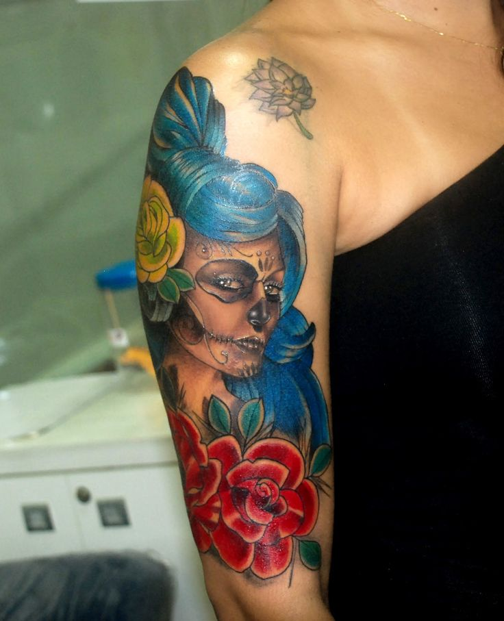 Catrina Tattoos: 14 Best Images About Katrina Tattoos On Pinterest