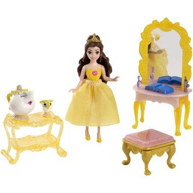 Disney Princess Belle's Fairy-tale Scene - Shop.Mattel.com