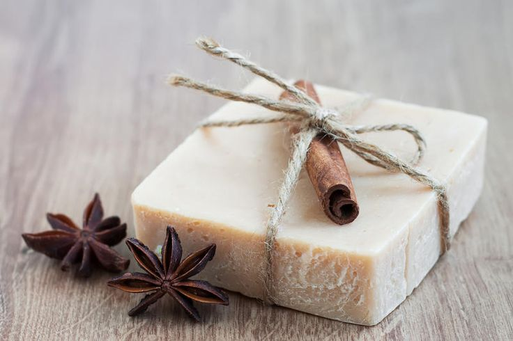 Натуральное мыло с корицей