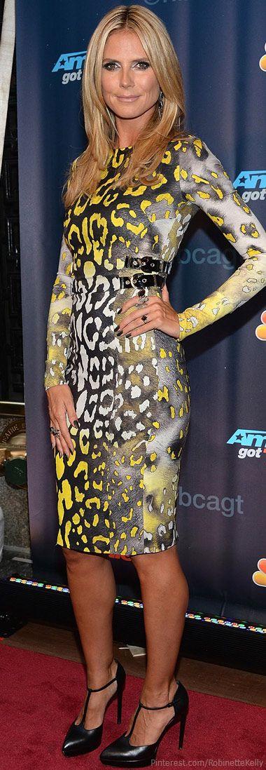 Heidi Klum   America's Got Talent 7/23/13