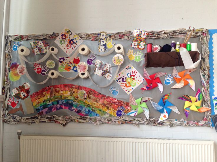 'Making Art Fun' Classroom Display