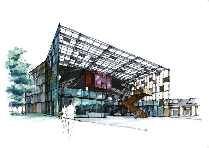 ARCHITECTURE SKETCH BLOG by Stan Zhang
