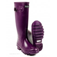 Barbour // Barbour Town and Country Wellington Boots - Purple URF0001PU11 - £74.95