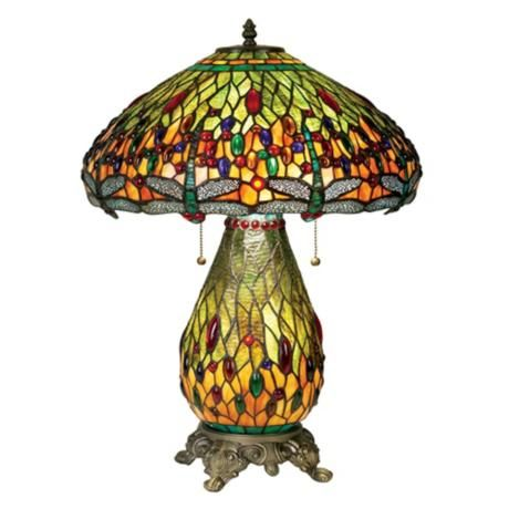 Beautiful Addition To Any Home Robert Louis Tiffany Dragonfly Night Light  Table Lamp #LampsPlus #