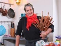 Camilla Plum henter inspiration fra Østen i de nye madprogrammer Krudt og krydderier. Foto: Egon Rix ©